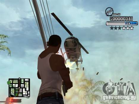 C-HUD New Style для GTA San Andreas четвёртый скриншот