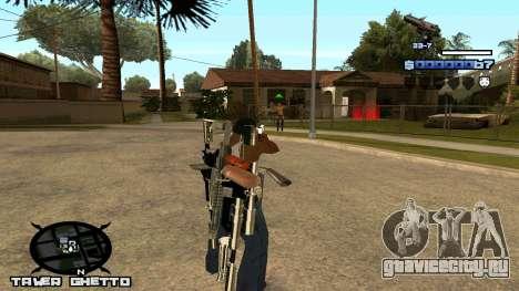 HUD Ghetto Tawer для GTA San Andreas второй скриншот