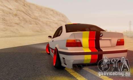 BMW M3 E36 German Style для GTA San Andreas вид слева