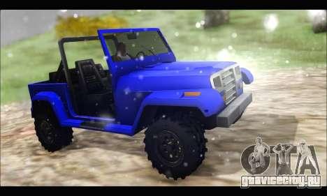 Mesa Off-Road для GTA San Andreas