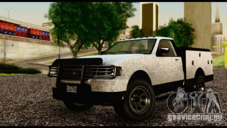Utility Van from GTA 5 для GTA San Andreas
