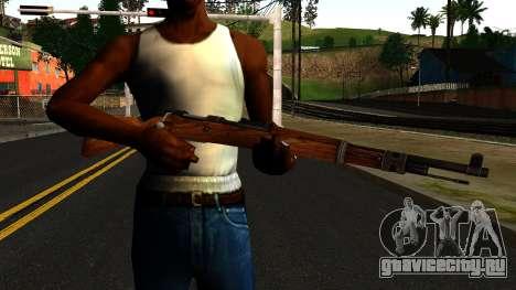 Mauser 98K from Wolfenstein 2009 для GTA San Andreas третий скриншот
