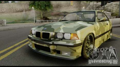BMW M3 E36 Camo Drift для GTA San Andreas