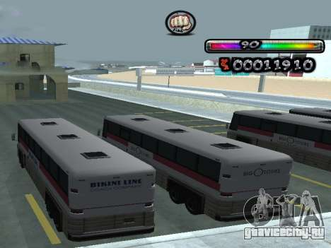 C-HUD by nester_n для GTA San Andreas четвёртый скриншот