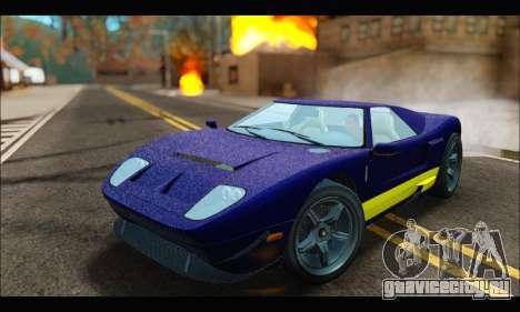 Vapid Bullet Gt (GTA IV) (LC Plate) для GTA San Andreas