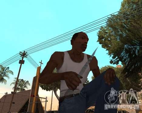 Новогодний weapon pack v2 для GTA San Andreas третий скриншот