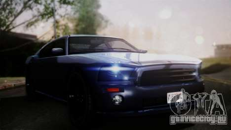Bravado Buffalo Sedan v1.0 (HQLM) для GTA San Andreas вид сзади слева
