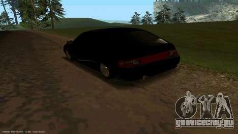 ВАЗ 21123 Bad Boy для GTA San Andreas вид сзади слева
