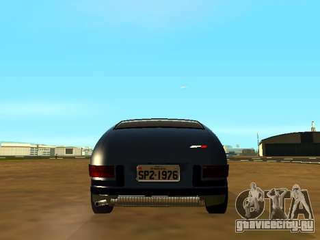 Volkswagen SP2 Original для GTA San Andreas вид изнутри