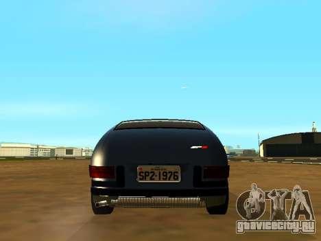 Volkswagen SP2 Original для GTA San Andreas вид изнутри