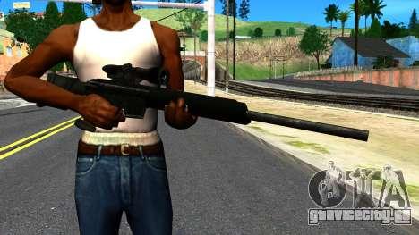 Sniper Rifle from GTA 4 для GTA San Andreas третий скриншот