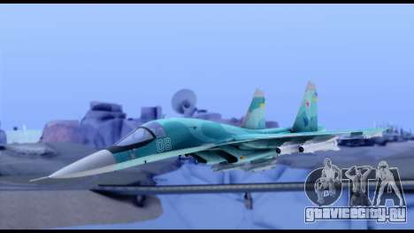 SU-34 Fullback для GTA San Andreas