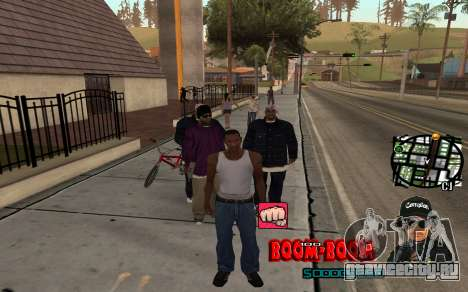 C-HUD Boom-Boom для GTA San Andreas второй скриншот