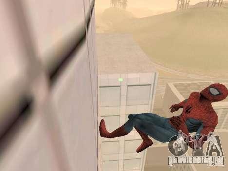 Spiderman 3 Crawling для GTA San Andreas второй скриншот