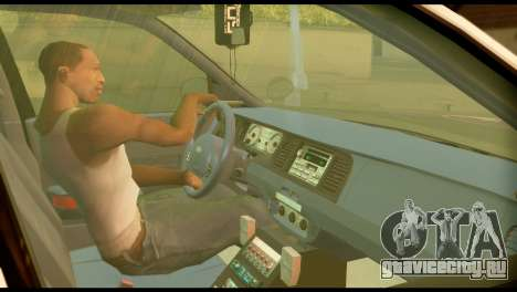 Ford Crown Victoria для GTA San Andreas вид сзади слева
