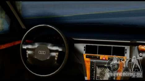Audi A8 2002 для GTA San Andreas вид сзади слева
