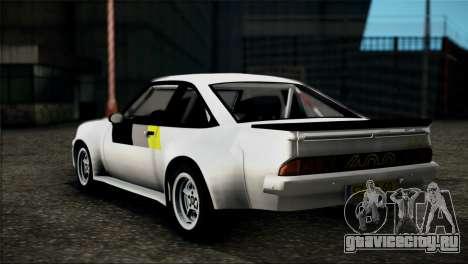 Opel Manta 400 для GTA San Andreas вид слева