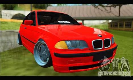 BMW e46 Sedan V2 для GTA San Andreas