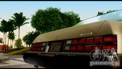 GTA 4 Esperanto для GTA San Andreas вид справа
