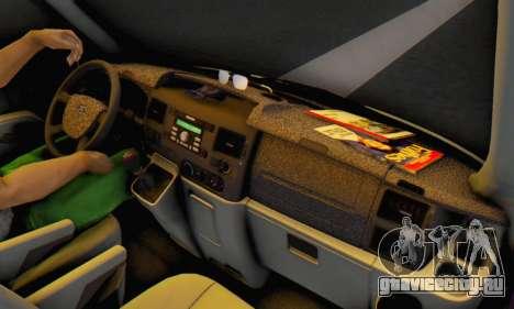 Ford Transit Air для GTA San Andreas вид слева