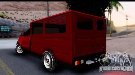 Toyota Hilux FB для GTA San Andreas
