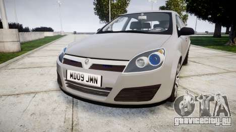 Vauxhall Astra 2009 Police [ELS] Unmarked для GTA 4