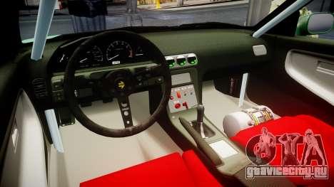 Nissan 240SX StreetStyle для GTA 4 вид сзади