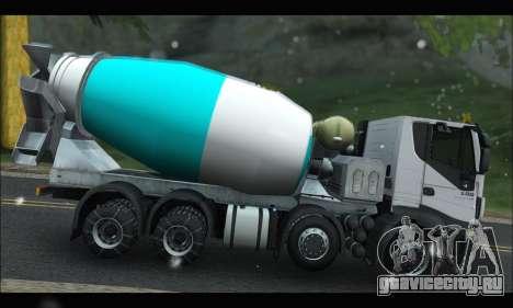 Iveco Trakker 2014 Concrete Snow для GTA San Andreas вид слева