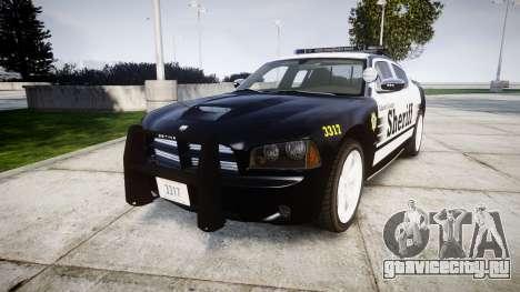 Dodge Charger SRT8 2010 Sheriff [ELS] rambar для GTA 4