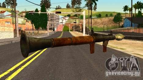 Rocket Launcher from GTA 4 для GTA San Andreas второй скриншот