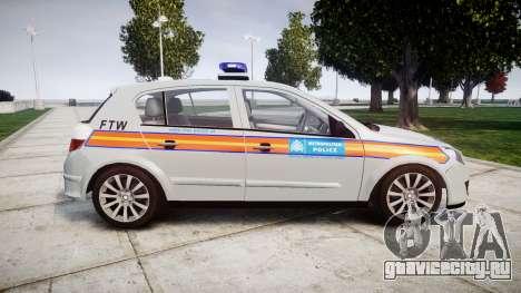 Vauxhall Astra 2010 Police [ELS] Whelen Liberty для GTA 4 вид слева