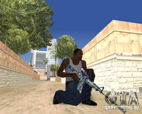 Graffity weapons для GTA San Andreas седьмой скриншот