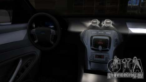 Ford Mondeo 2007 для GTA San Andreas вид справа