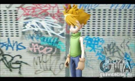 Yamato Ishida (Digimon) для GTA San Andreas