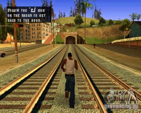 Colormod Dark Low для GTA San Andreas второй скриншот