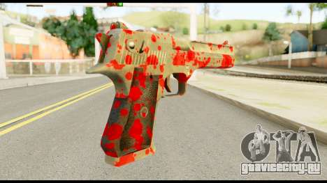 Desert Eagle with Blood для GTA San Andreas второй скриншот