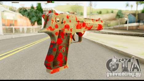Desert Eagle with Blood для GTA San Andreas второй скриншот