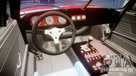 BMW 3.0 CSL Group4 1973 Art для GTA 4 вид сзади