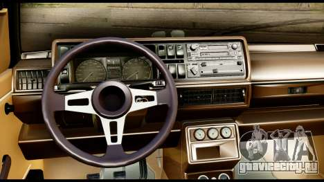 Volkswagen Jetta A2 Coupe для GTA San Andreas вид сзади слева