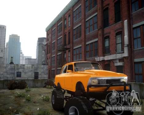 Москвич 412 Монстер для GTA 4 вид слева