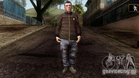GTA 4 Skin 87 для GTA San Andreas