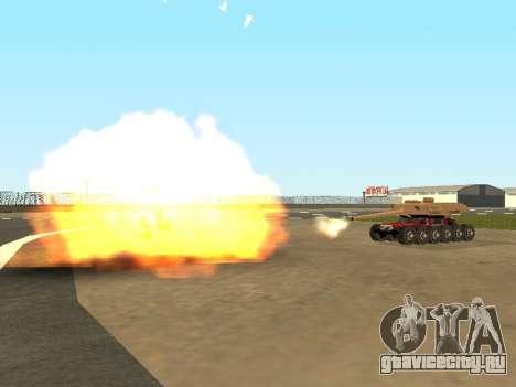 Tink Tank для GTA San Andreas вид сбоку
