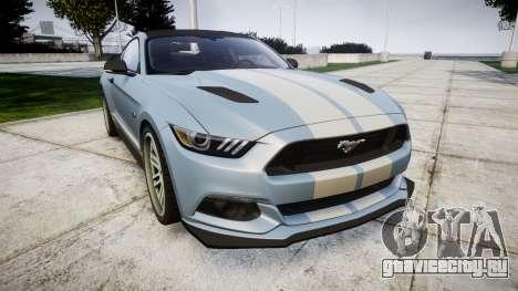 Ford Mustang GT 2015 Custom Kit gray stripes для GTA 4