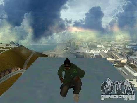 Ryder Skin Grove St. Family для GTA San Andreas третий скриншот