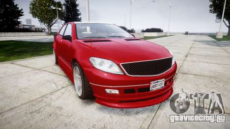 GTA V Benefactor Schafter body wide rims для GTA 4