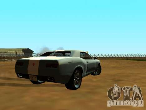 GTA 5 Bravado Gauntlet для GTA San Andreas вид снизу