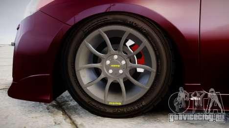 Toyota Prius для GTA 4 вид сзади