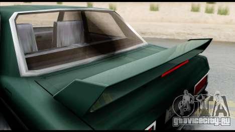 Admiral Camber Edition для GTA San Andreas вид сзади слева
