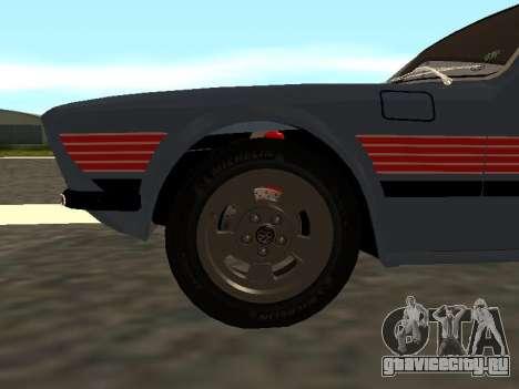 Volkswagen SP2 Original для GTA San Andreas вид сбоку