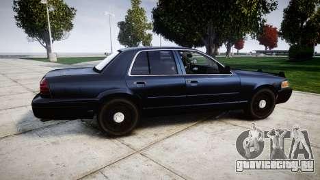 Ford Crown Victoria Police Interceptor [Retired] для GTA 4 вид слева